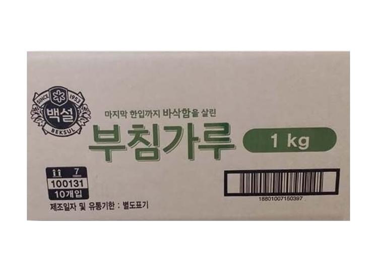 백설)부침가루1kg*10-box