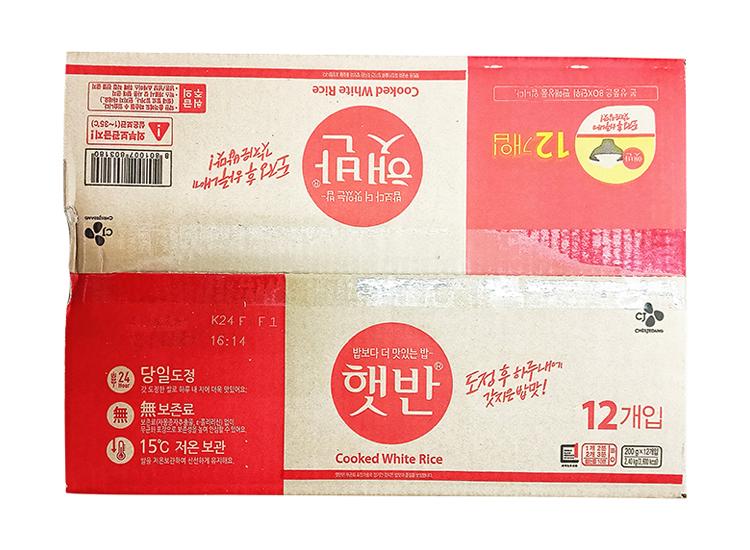 백설)햇반200g*12입기획-box