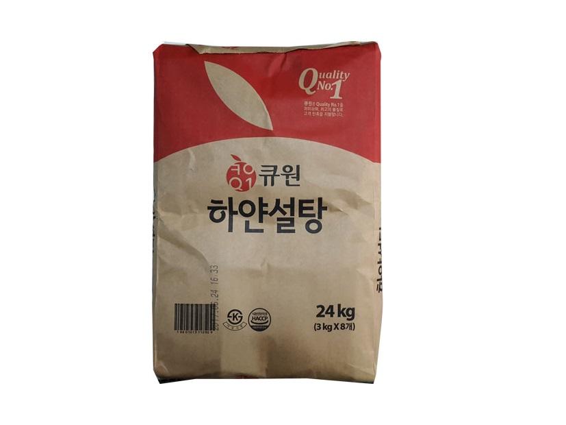 큐원하얀설탕3kg*8-box