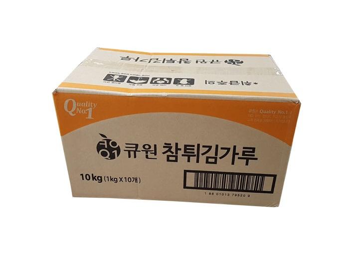 큐원참튀김가루1kg*10-box