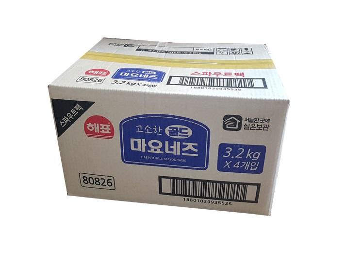 사조해표)마요네즈3.2kg*4(스파우트)-box