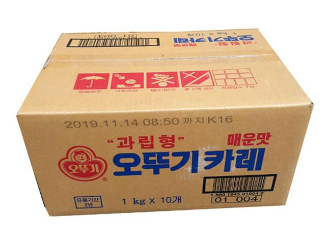 오뚜기)카레매운맛1kg*10-box
