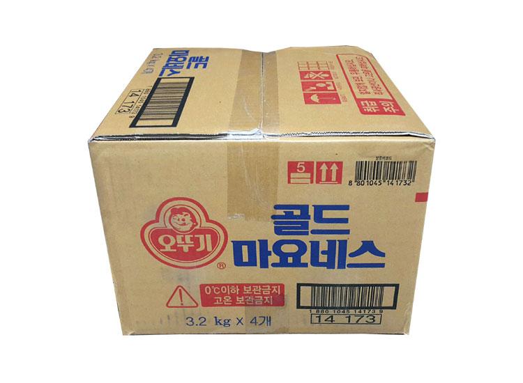오뚜기)골드마요네즈3.2kg*4-box