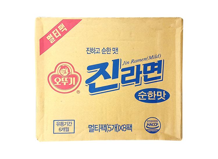 오뚜기)진라면멀티(순한맛)120g*5*8-box