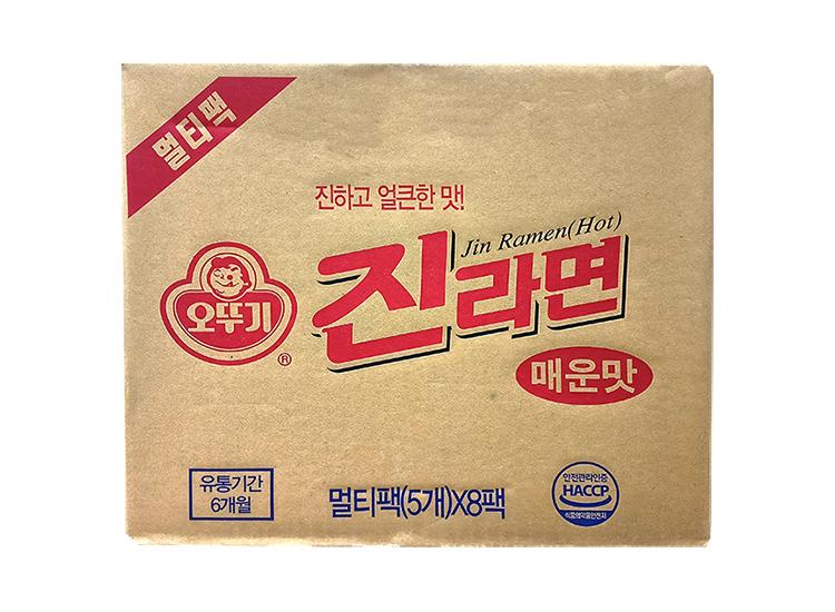 오뚜기)진라면멀티(매운맛)120g*5*8-box