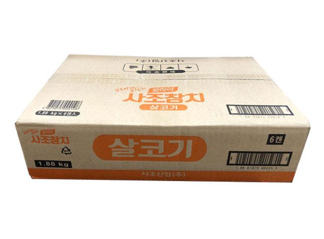사조해표)살코기참치덕용1880g*6-box