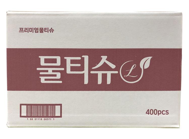 롯데)프리미엄물티슈-box