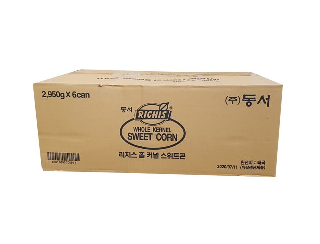 리치스)스위트콘2.95kg*6-box