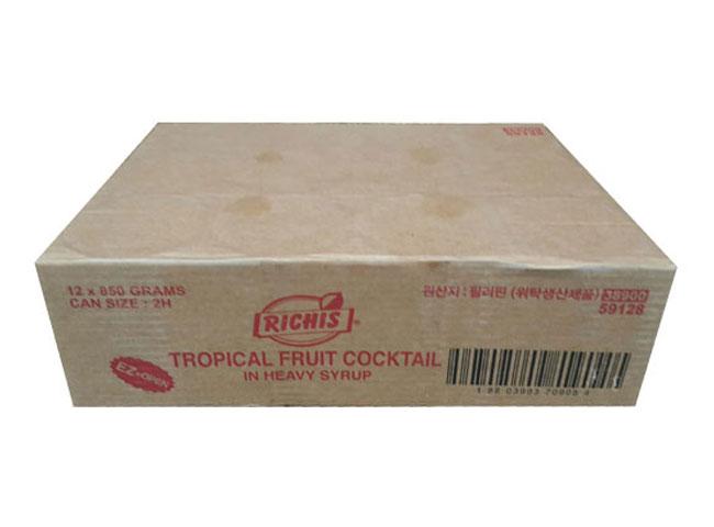 리치스)후르츠칵테일850g*12-box