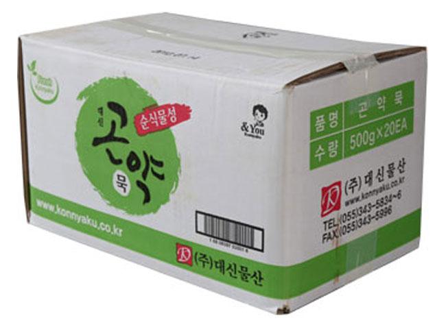 대신)묵곤약500g*20-box