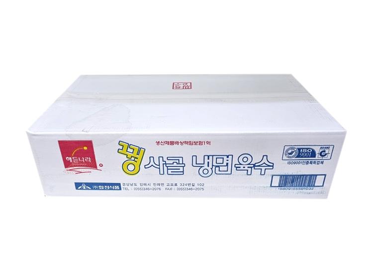 해든)꿩사골육수*30-box