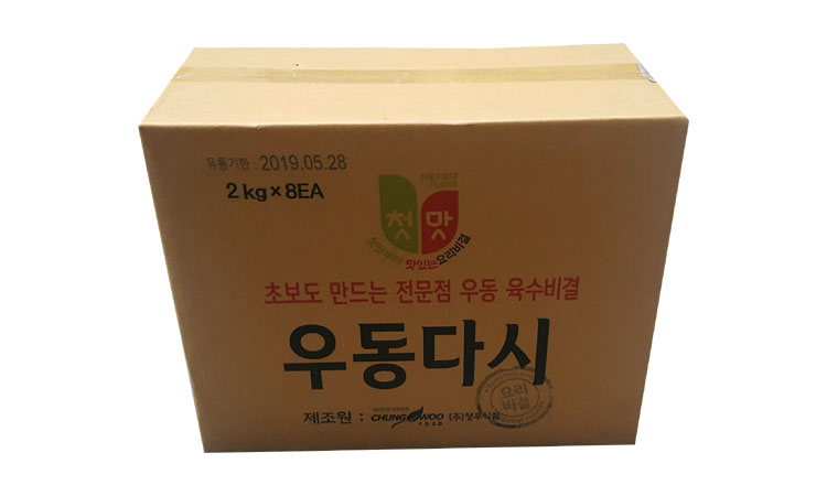 청우)실속우동다시2.1kg*8-box