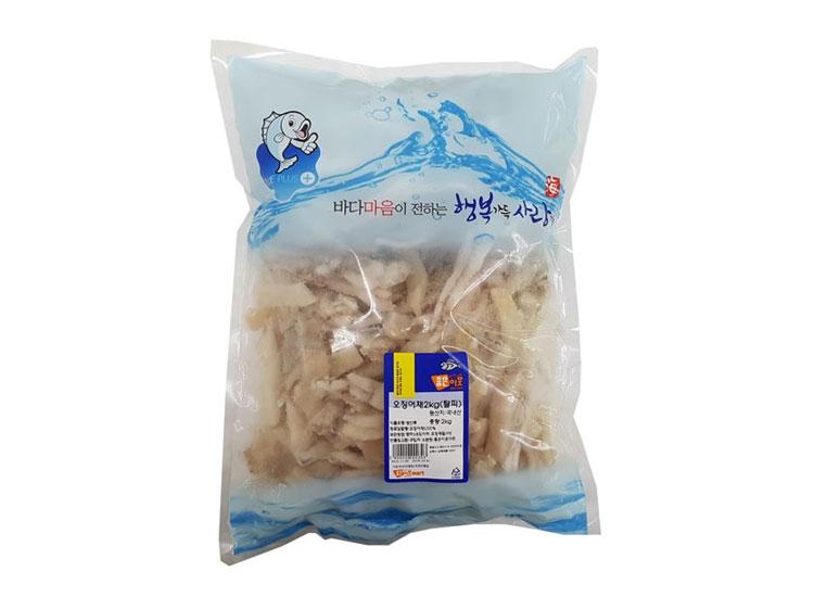 오징어채2kg(탈피)