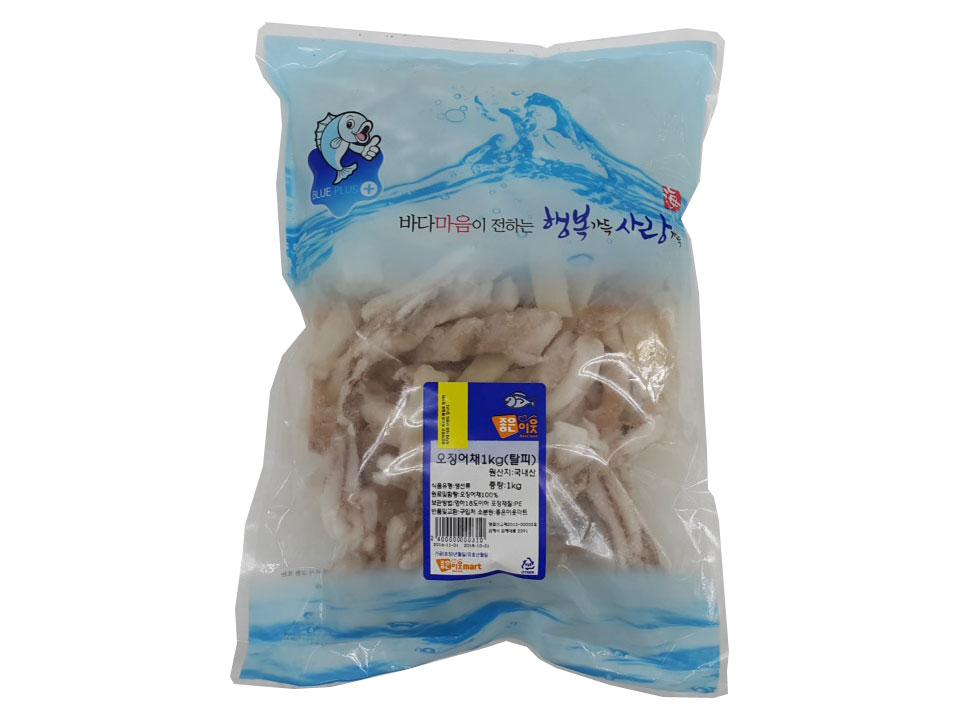 오징어채1kg(탈피)