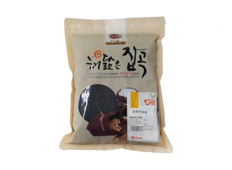 잡곡)찰흑미1kg(국산)