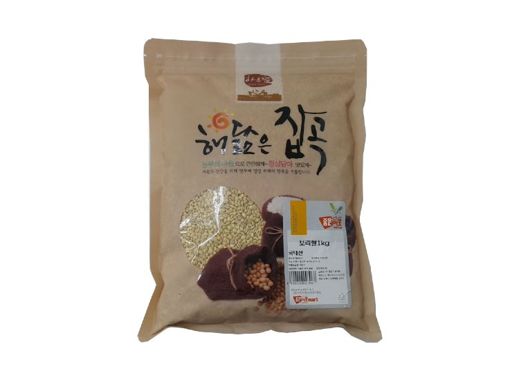 잡곡)보리쌀1kg(국산)