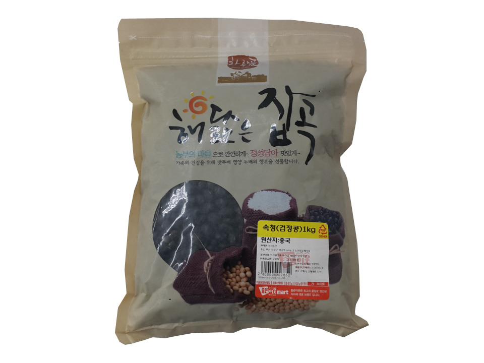잡곡)속청(검정콩)1kg(수입)