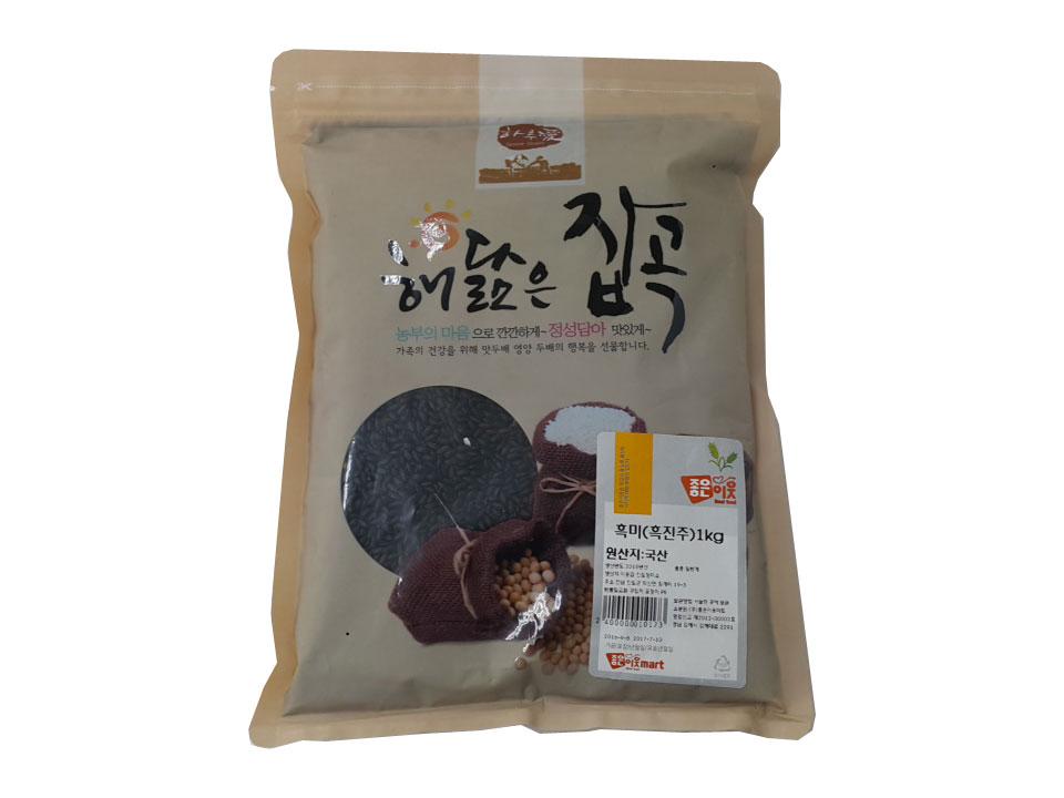잡곡)흑미(흑진주)1kg(국산)