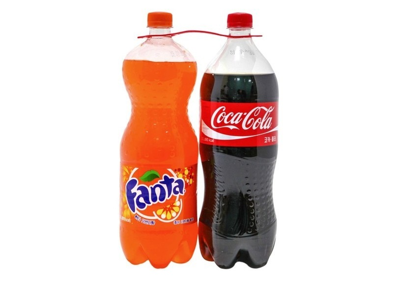 코카콜라1.5L+환타오렌지1.5L