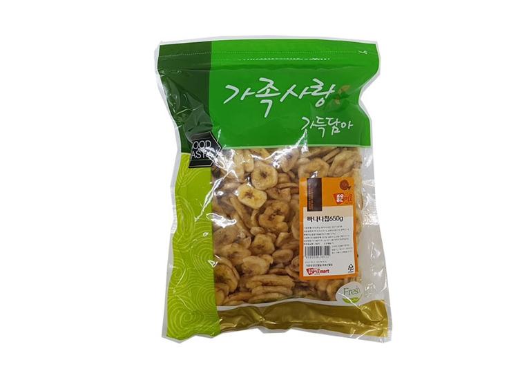 동부)바나나칩650g