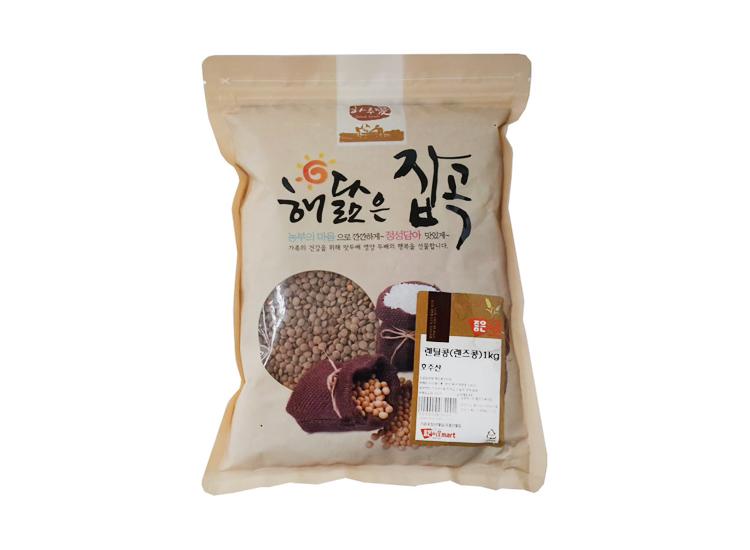 잡곡)렌틸콩(렌즈콩)1kg(수입)