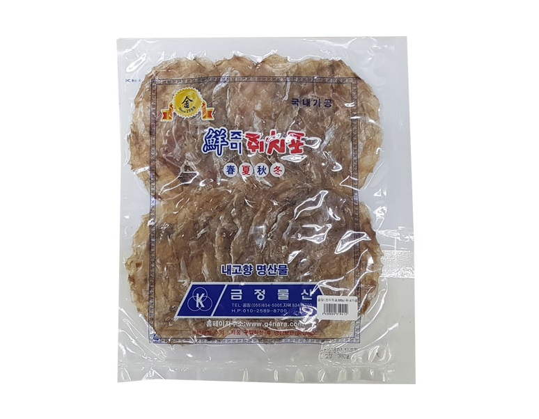 금정)조미쥐포300g(국내가공)