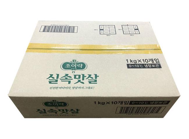동원)조이락실속맛살1kg*10-box