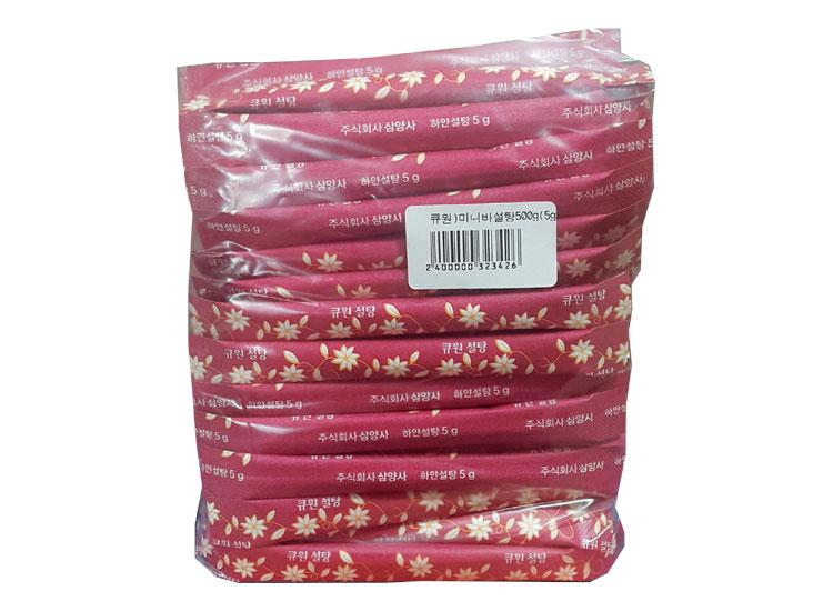 큐원)미니바설탕500g(5g*100입)