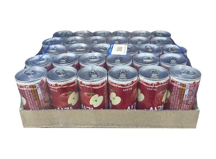 롯데)사과캔175ml*30-box