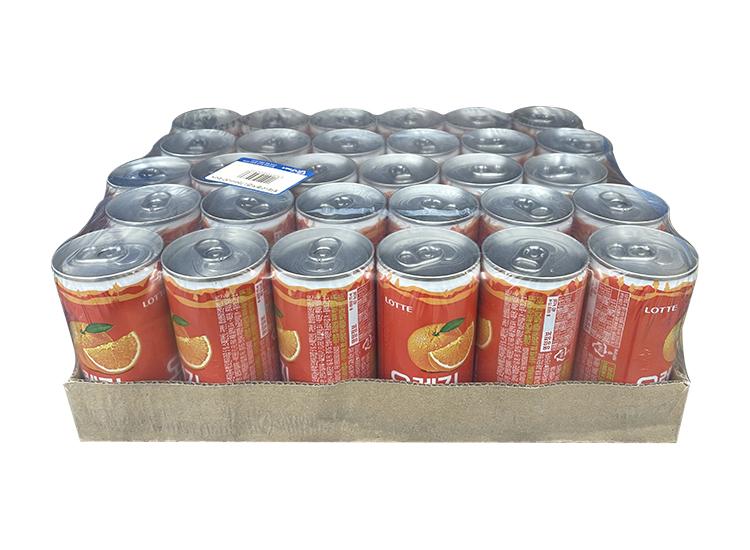 롯데)오렌지캔175ml*30-box