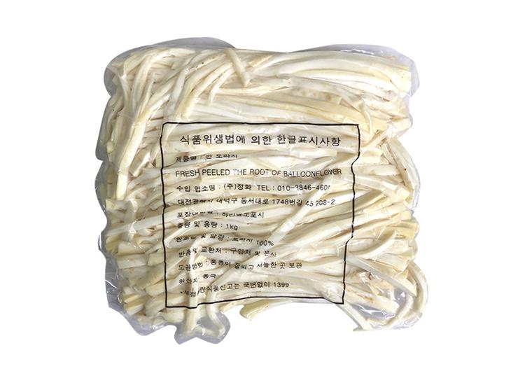 정화)깐도라지1kg/중국산