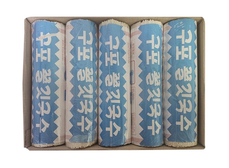 달성)구포쫄깃국수중면1.4kg*10-box