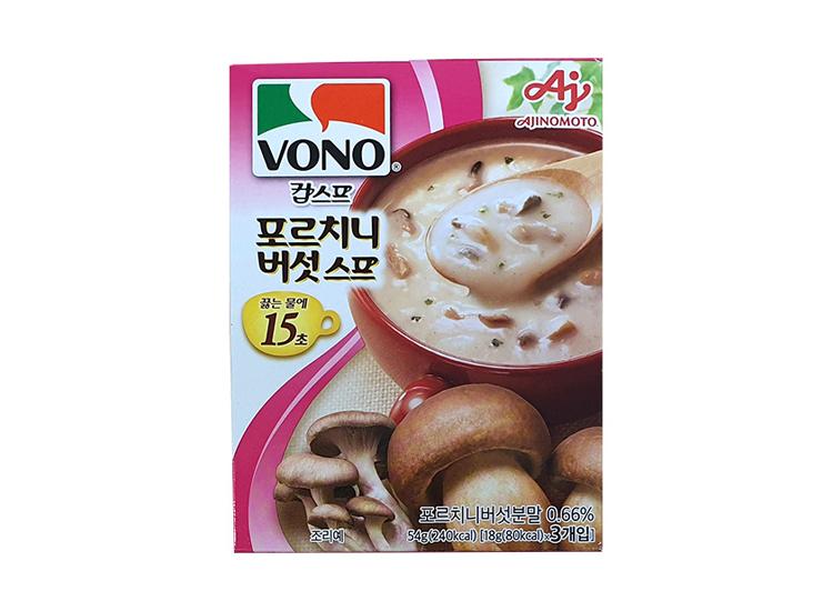 보노)포르치니버섯스프54g(3개입)