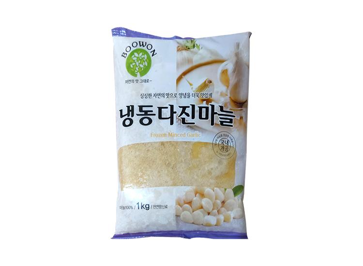부원)냉동다진마늘1kg