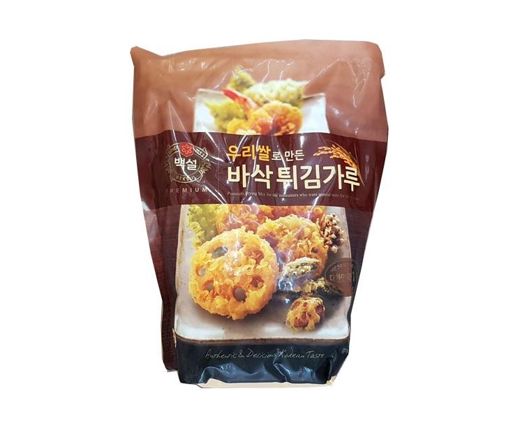백설)우리쌀바삭튀김가루1kg