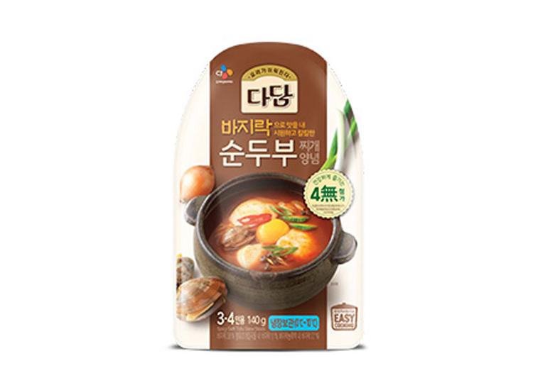 백설)바지락순두부찌게양념140g