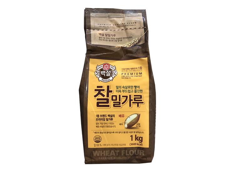 백설)찰밀가루1kg