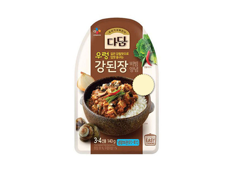 백설)쇠고기우렁비빔된장양념140g