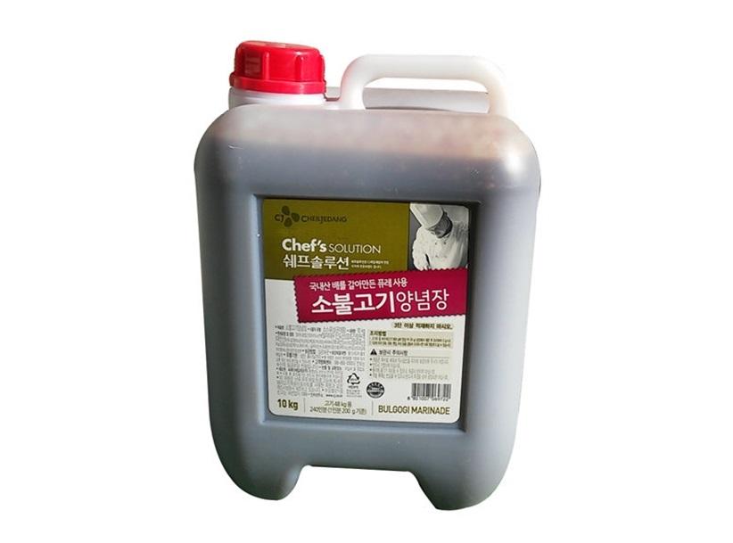 백설)소불고기10kg
