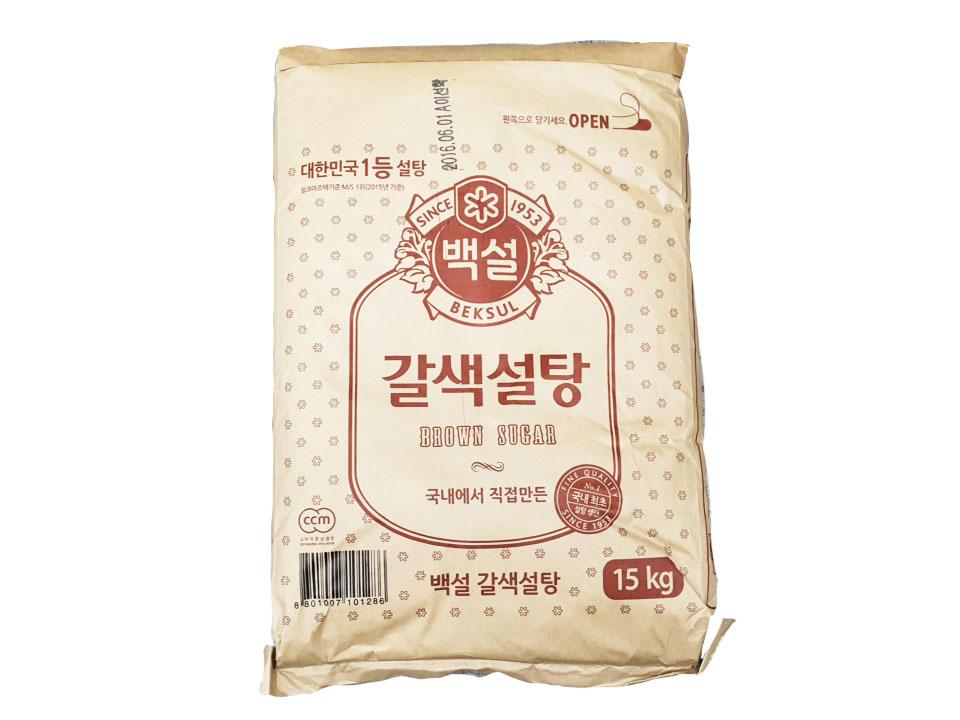 백설)갈색설탕15kg