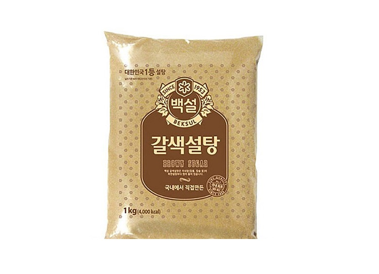 백설)갈색설탕1kg
