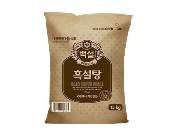 백설)흑설탕15KG