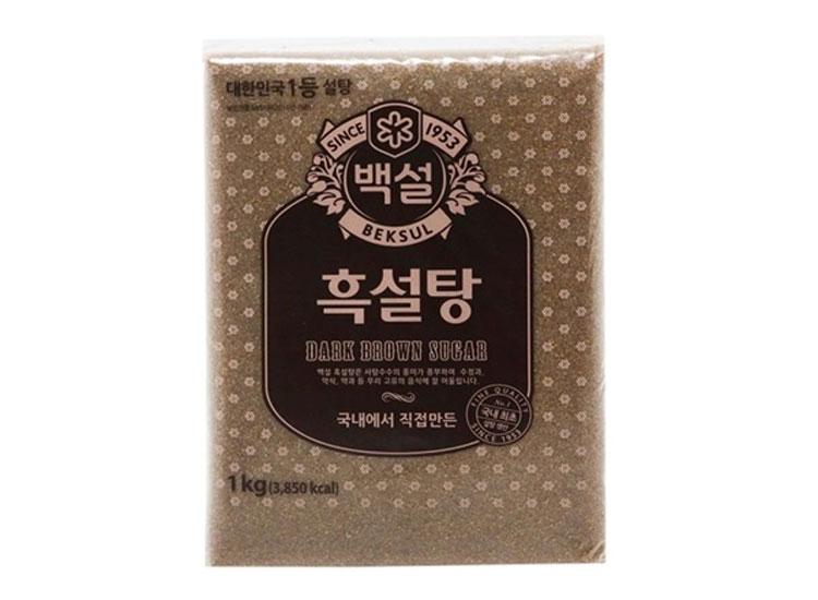 백설)흑설탕1kg