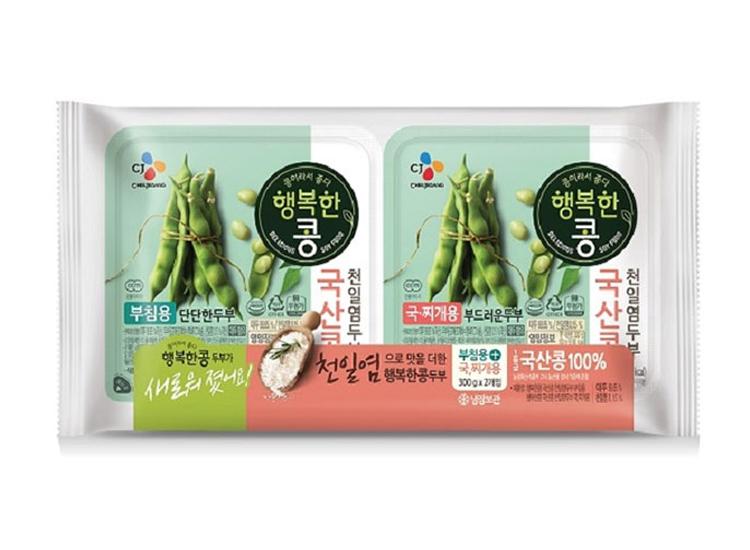 백설)행복한콩부침300g+찌개300g