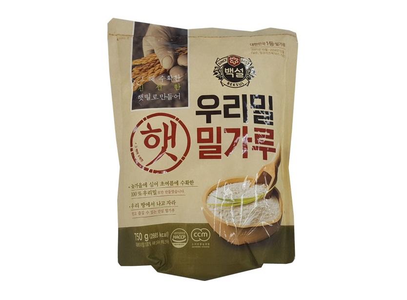 백설)우리밀밀가루750g