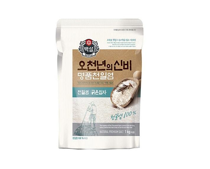 백설)명품천일염오천년굵은1kg