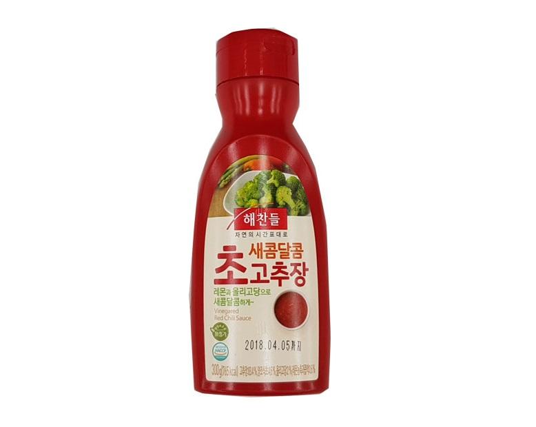 해찬들)새콤달콤초고추장300g