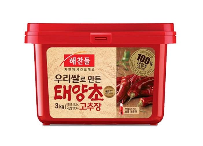 해)태양초골드고추장3kg(쌀)