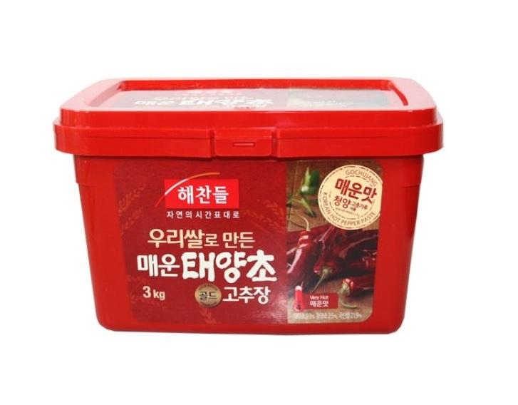 해)우리쌀태양초매운고추장3kg