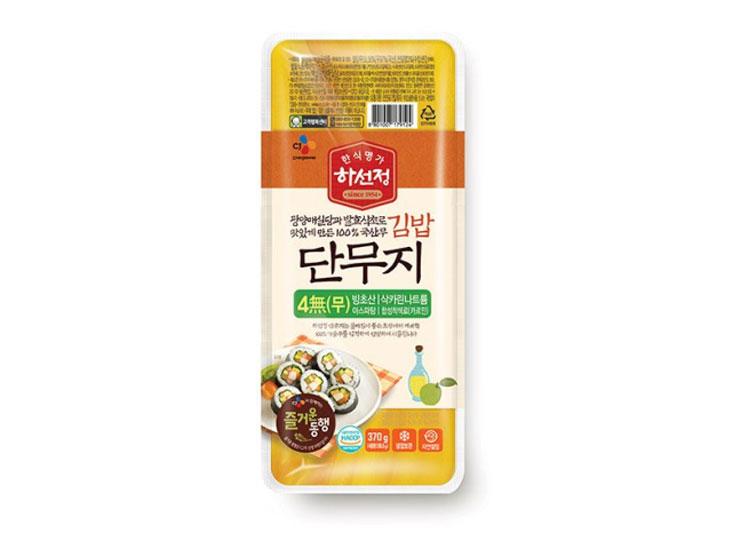 백설)하선정김밥단무지370g